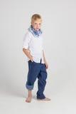 Actitudes de moda del adolescente Foto de archivo libre de regalías