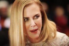Actitudes de Nicole Kidman en la alfombra roja Fotos de archivo
