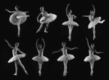Actitudes del ballet Foto de archivo