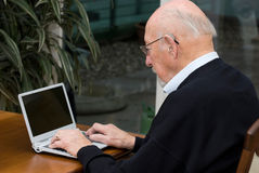 Activ Älterer Lizenzfreie Stockfotografie