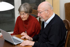 Activ Älterleute Stockfotografie