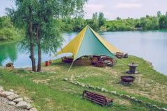 Activ vatten parkerar, grönt vatten och naturen Royaltyfria Foton