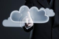 Activación de la nube fotografía de archivo libre de regalías