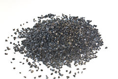 Activated Carbon for Water Treatment Texture Stock Image