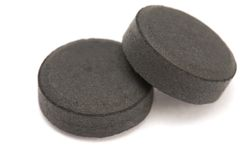 Activated charcoal Stock Photography