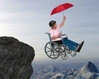 Старший счастливый выход на пенсию Active потехи Стоковые Фото