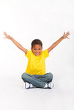 Active african boy Royalty Free Stock Image