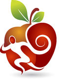 Active apple logo Stock Photography