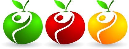 Active apples Stock Photos