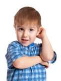 Active artistic boy Royalty Free Stock Images