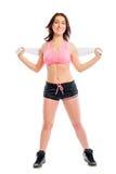 Active athlete beautiful girl Stock Image