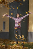 Active in autunno Fotografia Stock