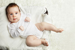 Active baby having fun! Stock Photos