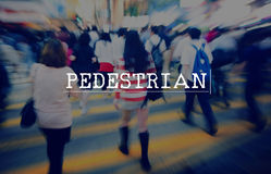 Active, boring, dull, environment friendly, foot traffic, footer. Asian Pedestrian Hurry Rush  Crowded Motion Stock Photos
