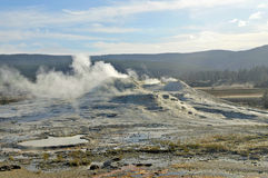Active Caldera at Yellowstone National Park, USA Royalty Free Stock Image