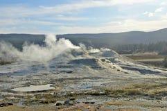 Active Caldera at Yellowstone National Park, USA Royalty Free Stock Image