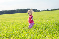 The active child Royalty Free Stock Photography