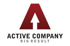 Active company logo Royalty Free Stock Photography