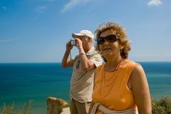 active couple older Στοκ φωτογραφία με δικαίωμα ελεύθερης χρήσης