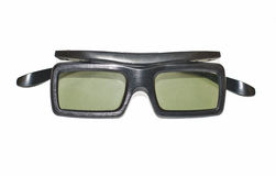 Active 3D TV Glasses Stock Image