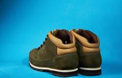Active, der Paare Schuhe wandert Lizenzfreie Stockbilder