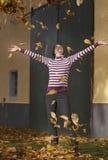 Active en automne Photographie stock