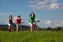 Active family Stock Images