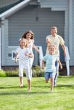An active family Stock Images