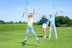 Active family Stock Photography