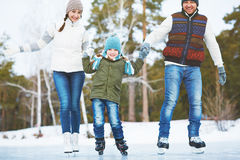 Active family Stock Photo