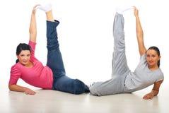 Active fitness women stock photos