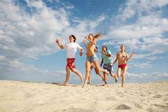 Active friends Royalty Free Stock Images