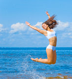 Active Girl Royalty Free Stock Photography
