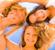 Active girls Royalty Free Stock Images