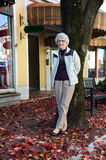 Active Grandmother Shopping Royalty Free Stock Image