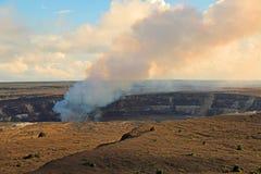 Active Halema'umau Crater Stock Photography