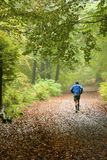 Active health in nature Stock Photo