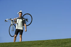 Active Healthy Biker Stock Images