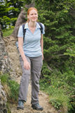 Active Holiday - Hiking in the Mountains Stock Photography