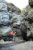 Active holidays in the Canary Island of La Palma Stock Photos