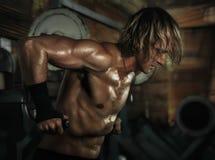 Active Indoor Training. Sport Equipment. Stock Photography