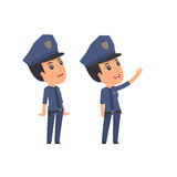 Active and Intelligent Character Constabulary Royalty Free Stock Images