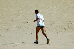 Active jogger Stock Photography