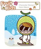 Active Kid 1 ------ Winter Ski Royalty Free Stock Photography