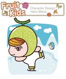 Active Kid 2 ------ Winter Ski Royalty Free Stock Image