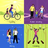 Active Leisure Concept Royalty Free Stock Photos