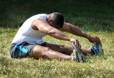 Active man exercizing Royalty Free Stock Image