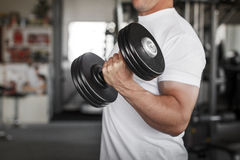 Active man workout Royalty Free Stock Photo