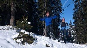 Active nel freddo Fotografie Stock