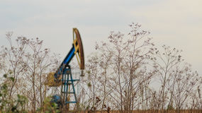 Active oil and gas rig Royalty Free Stock Photography